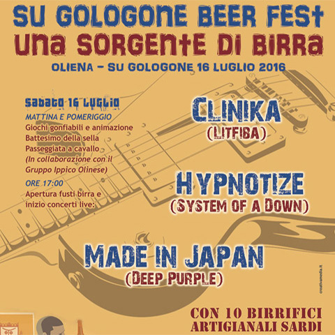 Su Gologone Beer Fest - Una Sorgente di Birra
