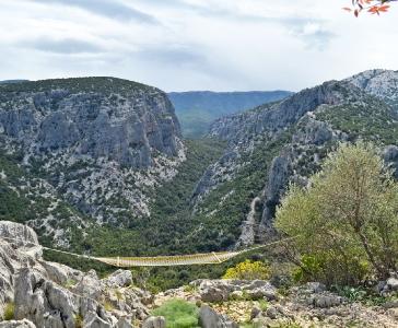 Veduta dal monte Tiscali