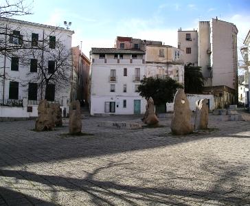 Piazza Satta, Nuoro (Progetto di Costantino Nivola)